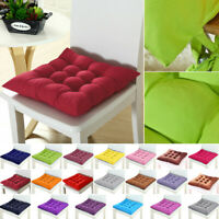 Square Plain Chair Pad Cushion Cover Thick Seat Cushion For Dining Home Office