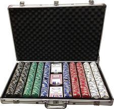1000 Clay 11.5gr Ace/Jack Poker Chips Custom Set  Choose Color Combination *