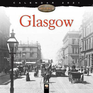 Glasgow Wall Calendar 2021 (Paperback), Stationery, Brand New