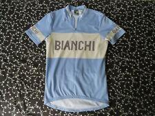 Vintage Bianchi Blue Bicycles Jersey XL