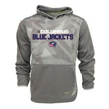 Columbus Blue Jackets NHL Reebok Men's Center Ice TNT Speedwick Hoodie