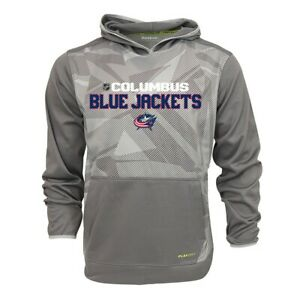 Columbus Blue Jackets NHL Reebok Men's Center Ice TNT Speedwick Hoodie