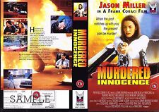 Murdered Innocence, Jason Miller Video Promo Sample Sleeve/Cover #15238