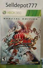 Brand New Street Fighter X Tekken -- Special Edition (Microsoft Xbox 360, 2012)