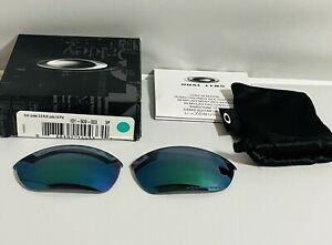 New Oakley Half Jacket 2.0 Jade Iridium Polarized Sunglasses Replacement Lenses