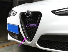 For Alfa Romeo Stelvio 2017-2018 Carbon fiber Car Styling Center Grille Gril