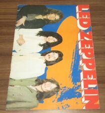 Led Zeppelin 1971 JAPAN TOUR BOOK concert program DEBUT! Others currently listed