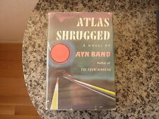 Atlas Shrugged by Ayn Rand.1st edition,2nd printing in first issue dust jacket