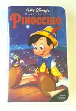 Walt Disney's Pinocchio Masterpiece Collection in Clamshell Case VNTG VHS 1993