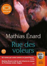 Rue des voleurs - Mathias Enard | Livre audio (neuf)