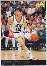 1992-93 UPPER DECK ALL-NBA TEAM: JOHN STOCKTON #AN6 JAZZ INSERT 5x ALL-DEFENSIVE
