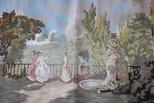 Rico-Gobelin Needlepoint Baumwolle 38x27 Canvas Terrasse des Schlosses Marly #59488