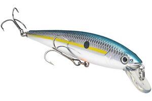 Strike King Jerkbait HCKVDJ200-514 Chrome Sexy Shad KVD Slash Fishing Lure