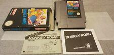 THE ORIGINAL DONKEY KONG Arcade Serie Version rare NES Complet PAL