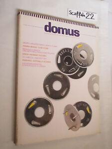Rivista architettura: DOMUS n. 699 novembre 1988 Branzi De Chirico Longo Schaal