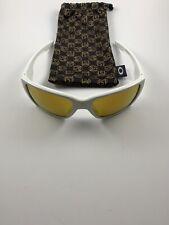 New listing Oakley Style Switch Shaun White Polished White 24K Iridium OO9194-10 Gold Icons