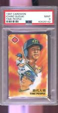 1997 Cardwon Time People Ichiro Suzuki ROOKIE RC MINT PSA 9 Graded Baseball Card