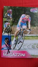 Enrico Magazzini autographe signé autogramm radsport cyclisme dedicace
