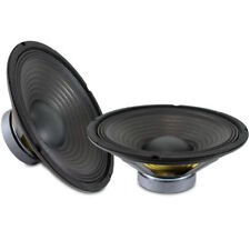 """2x Skytronic 10"""" Replacement Components Bass Woofer Speaker Drivers Cones 400w"""