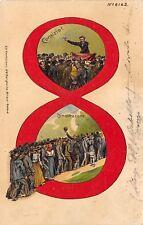 C882) SOCIALISMO, MOVIMENTO OPERAIO, LOTTA PER LE 8 ORE, COMIZIO E DIMOSTRAZIONE