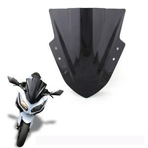 Windshield Windscreen Double Bubble For Kawasaki Ninja 300 EX300 2013-2017