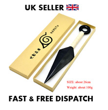 NARUTO - White Kunai - COSPLAY PLASTIC Comes in a Box UK Seller !!!