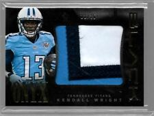 2013 Panini Black Kendall Wright Jumbo Patch 3 Color SP #11/25