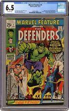 Marvel Feature #1 CGC 6.5 1971 0295213004 1st app. and origin Defenders