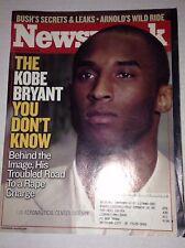 Newsweek Magazine Kobe Bryant October 13, 2003 FAA 022917NONRH