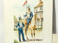 Original Watercolour Painting Peter Kemplay 17th & 21st Lancers c1890 #RGA
