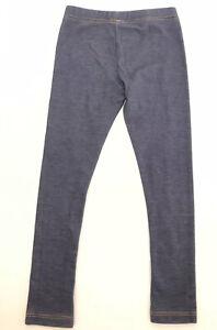 OLD NAVY Girls Leggings Pants Size 5T Blue Denim Cotton Stretch