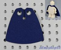 LEGO - Minifigure Cloth Cape Dark Blue - Custom Fabric Robe Cloak Star Wars Jedi