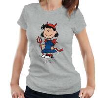 Peanuts Halloween Devil Lucy Van Pelt Women's T-Shirt