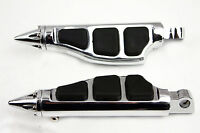 Stiletto Pegs Foot pegs For Harley Softail Sportster Dyna Glide Fat Boy CHROME