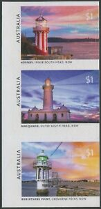 LIGHTHOUSES OF SYDNEY 2018 - MINT EX-BOOKLET SELF-ADHESIVES (T395)