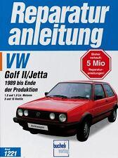 VW Golf II 2 Jetta ab 1989 Reparaturanleitung Reparatur-Handbuch Reparaturbuch