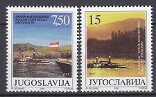 YUGOSLAVIA 1991 **MNH  SC# 2099 - 2100 Governments of Danube River Region