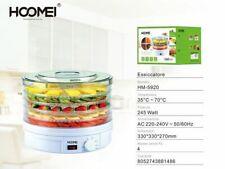 cc Essiccatore Alimenti Frutta Verdura Essicatoio 245w 35-70° Hoomei Hm-5920