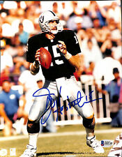 Raiders Jeff Hostetler Authentic Signed 8x10 Photo Autographed BAS 2