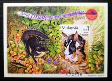 MALAYSIA 2002 Rabbit M/Sheet RARE Imperf MS1112db U/M NJ205