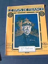 Pays de France 1916 78 VERDUN HAUCOURT MALANCOURT AUGUSTE RODIN MEUDON FLEURY D