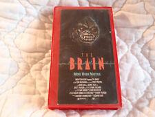 THE BRAIN VHS 80'S ALIEN HORROR SCI-FI GORE CYNDY CYNTHIA PRESTON MIND CONTROL
