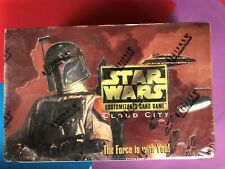 Star Wars  ==> Cloud City <== Sealed Limited Booster Box X1