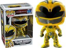 Funko Pop Movies Power Ranger #398 Yellow RANGER Vinyl Bobble Head Non- chase