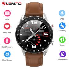 LEMFO L7 Men Women Smart Watch Band ECG Heart RateBlood Oxygen Pressure Monitor