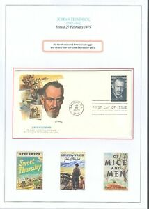 U.S.A. First Day and Commemorative Covers 1975 - 79