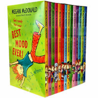 Megan McDonald Judy Moody 14 Books Collection Set Children's Pack, Gets famous