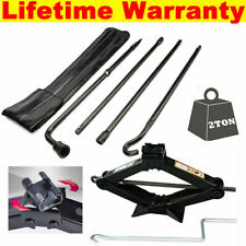 Scissor Jack Spare Tire Lug Wrench Tool Kit Steel Fit 2011 2012 2013 Ford F150 Fits Ford