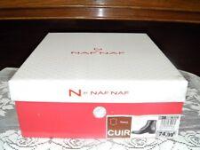 Neufs en boîte! Marque NAF NAF Boots Bottines noirs Femme Fille Pointue 36