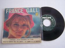 EP 45 T VINYLE 4 T , FRANCE GALL , L ' AMERIQUE . VG - / VG  .